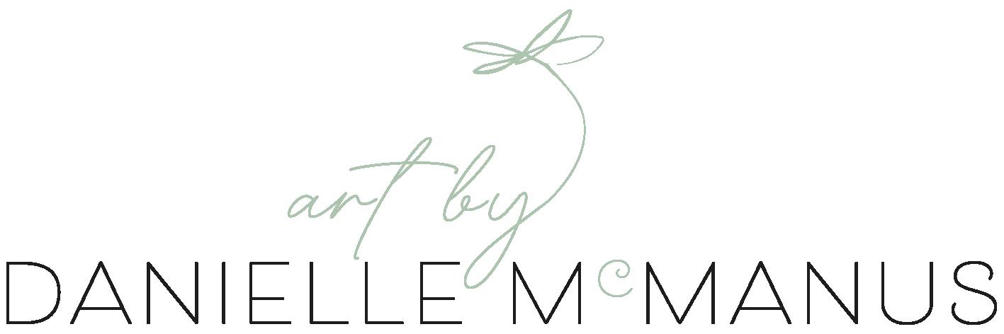 Art by Danielle McManus, Australian Contemporary Artist Logo